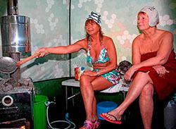 Мобильная баня Мобиба МБ-10А. Как хорошо в мобильной бане!
