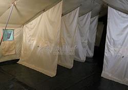 Зонирование внутреннего помещения палатки Роснар Р-75