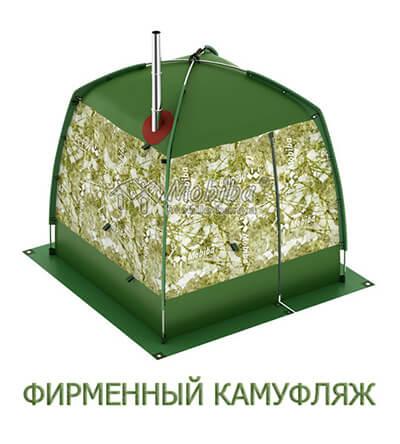 Ранцевая мобильная баня Кайфандра РБ-170 Фирменный камуфляж