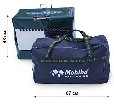 Транспортные габариты мобильной бани Мобиба МБ-10А ипечи Медиана-5